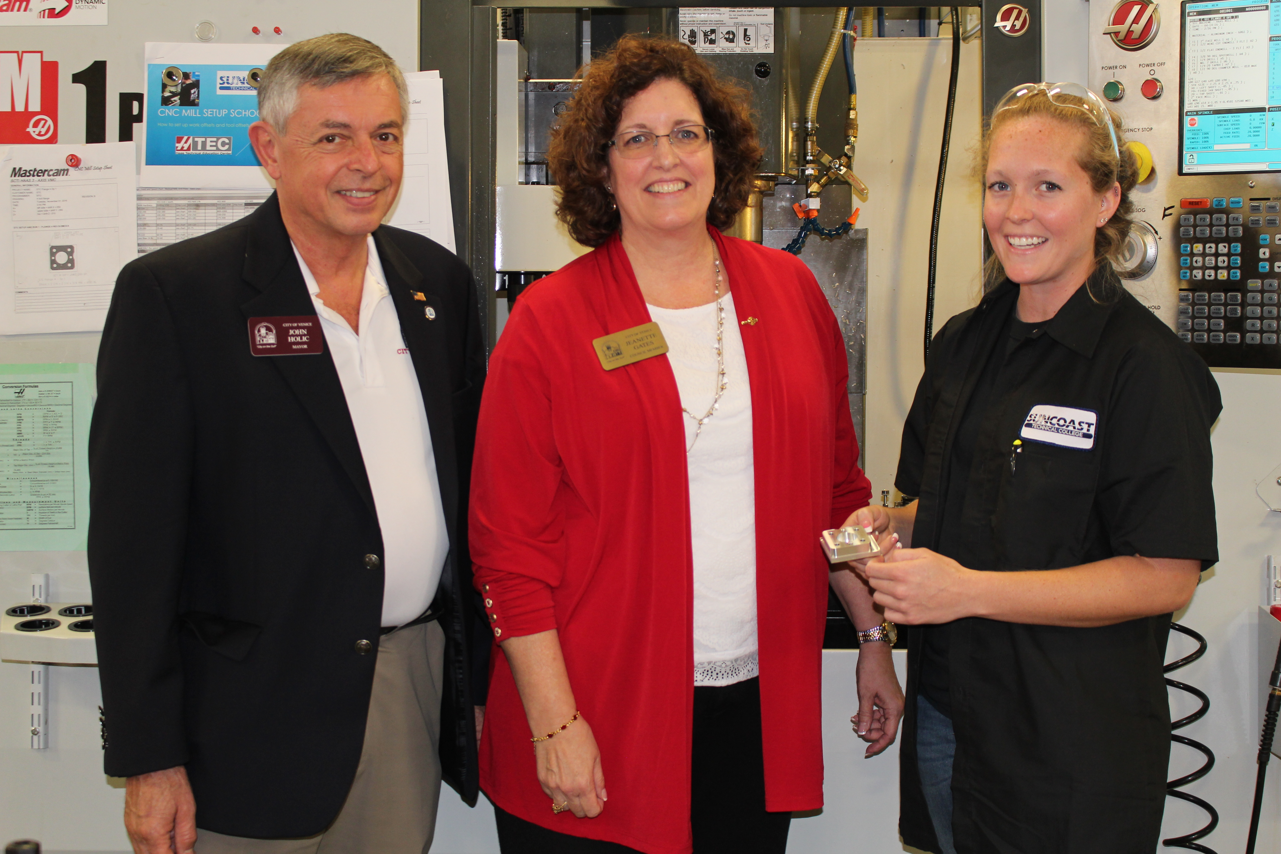 Gene Haas Foundation Donation | Suncoast Technical College ...