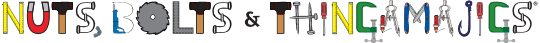 The logo of Nuts, Bolts, and Thingamajigs